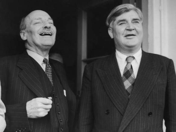 Attlee+and+Bevan